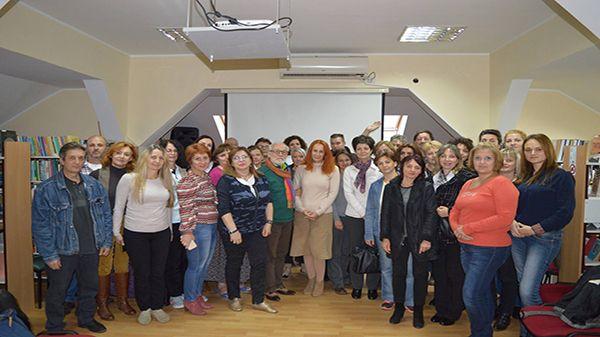 Библиотекари на стручном семинару